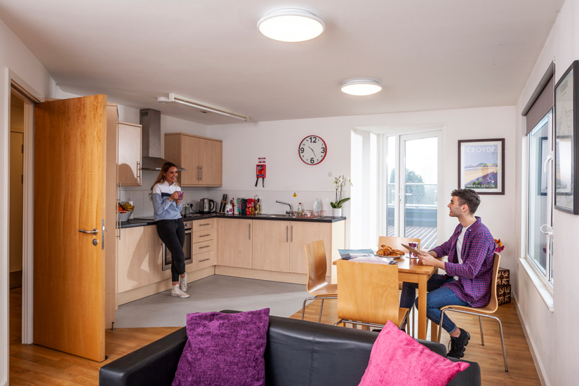 kitchen - Metchley Hall, Birmingham Student Accommodation • AlliedStudents