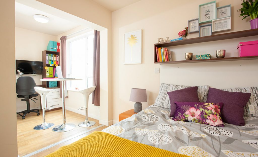 the pavilion student accommodation 1 bedroom apartment