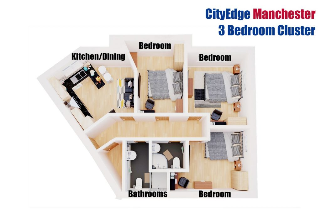 City Edge plan cluster