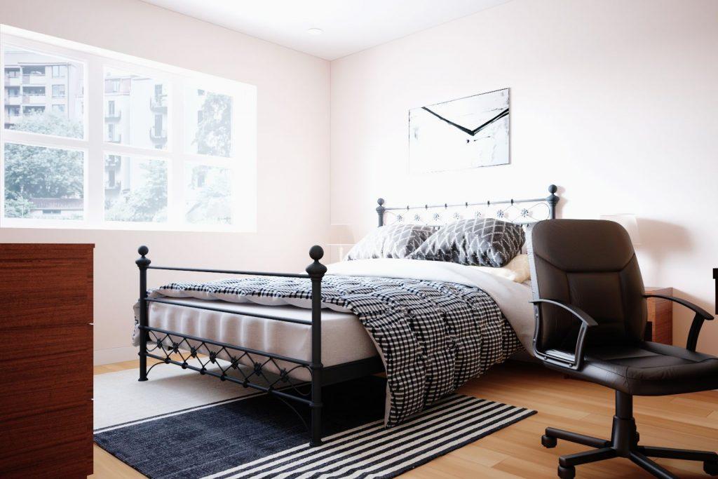 City Edge bedroom
