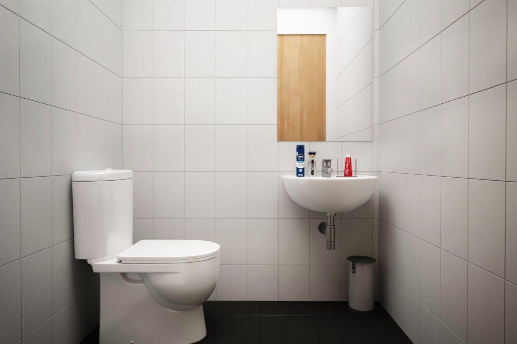 Moss Court bathroom 3 - Moss Court, Birmingham Student Accommodation • AlliedStudents • Book