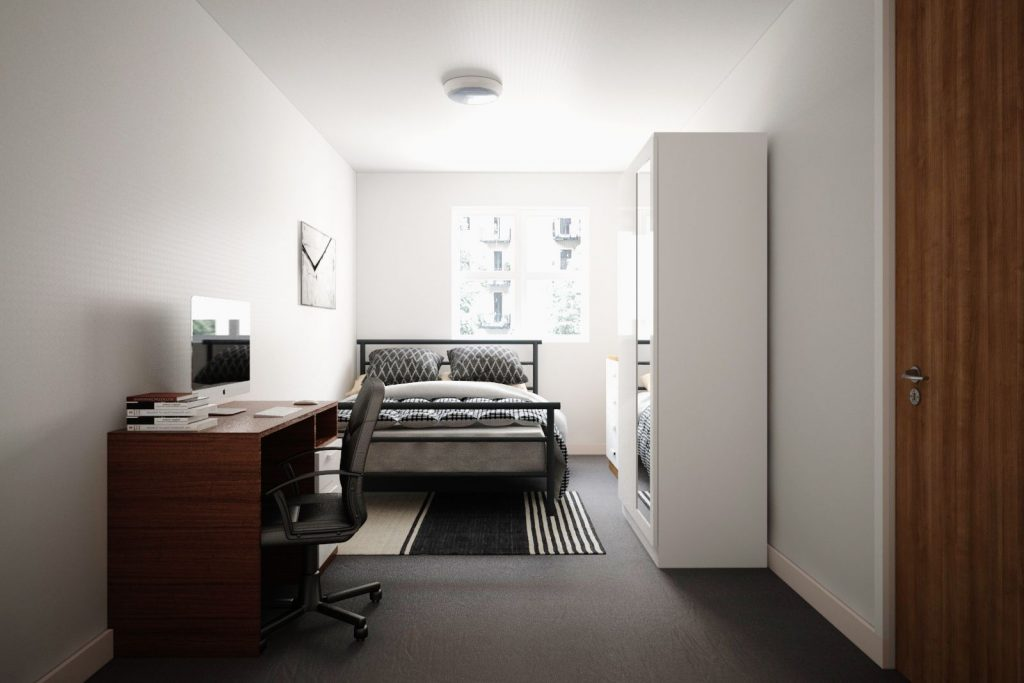 Moss Court room 4 - Moss Court, Birmingham Student Accommodation • AlliedStudents • Book